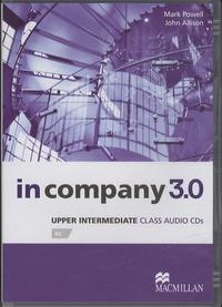 Mark Powell et John Allison - In Company 3.0 - Upper Intermediate. 3 CD audio