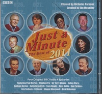 Nicholas Parsons et Ian Messiter - Just a Minute: The Best of 2011. 1 CD audio