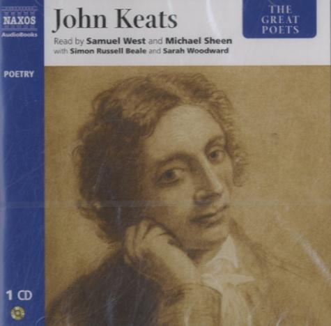John Keats - The Great Poets: John Keats. 1 CD audio