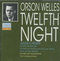 William Shakespeare - Twelfth Night - 2 CD audio.