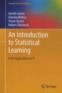 Gareth James et Daniela Witten - An Introduction to Statistical Learning with Applications in R.