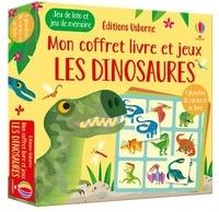Gareth Lucas et Sam Smith - Les dinosaures - Jeu de loto et jeu de mémoire - 4 planches, 36 cartes et un livre.