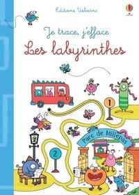 Gareth Williams et Jane Bingham - Les labyrinthes - Avec un feutre à encre effaçable.