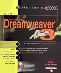 Dreamweaver 3. Avec CD-ROM - Garo Green | Showmesound.org