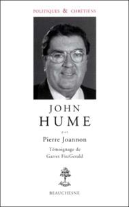 Garret Fitzgerald et Pierre Joannon - John Hume.