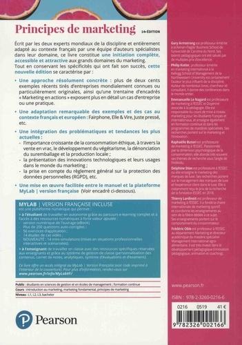 Principes de marketing 14e édition