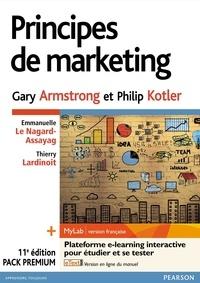 Gary Armstrong et Philip Kotler - Principes de marketing - Pack Premium : Livre, MyLab et eText.