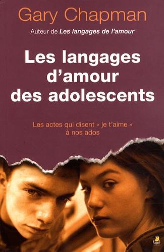 Les Langages D Amour Des Adolescents Grand Format