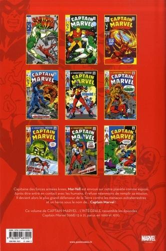 Captain Marvel L'intégrale 1969-1970