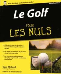 Le golf pour les nuls - Gary McCord pdf epub