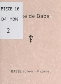 Gaspard - Devise de Babel.