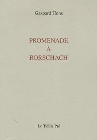 Gaspard Hons - Promenade à Rorschach - Parcours 1994-2001.