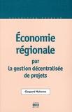 Gaspard Muheme - Economie régionale par la gestion décentralisée de projets.