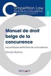 Gaspard Muheme - Manuel de droit belge de la concurrence.