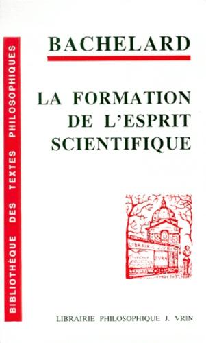 La Formation De L Esprit Scientifique