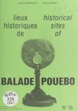 Gaston Barbault et Bernard Brou - Lieux historiques de Balade-Pouebo - Historical sites of Balade-Pouebo.