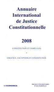 Accentsonline.fr Annuaire international de justice constitutionnelle - Tome 24 Image