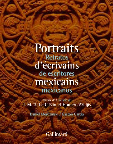 Gaston Garcia - Portraits d'écrivains mexicains - Retratos de escritores mexicanos.
