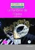 Gaston Leroux - Le fantôme de l'opéra. 1 CD audio