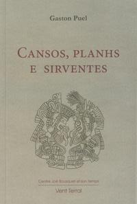 Gaston Puel - Cansos, planhs e sirventes.