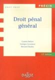 Gaston Stefani et Georges Levasseur - Droit pénal général.