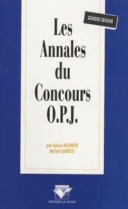 Gatien Meunier - Les Annales du Concours OPJ.