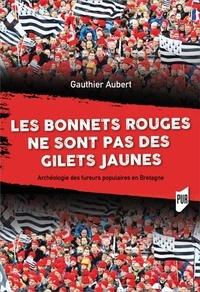 Gauthier Aubert - Les Bonnets rouges ne sont pas des Gilets jaunes - Archeologie des fureurs populaires en Bretagne.