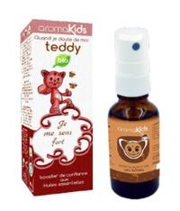 Gauthier Bribosia - Spray teddy bio - Je me sens fort - Confiance en soi & pipi au lit.
