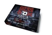Gauthier Wendling - Escape Box Horreur - Contient : 3 livrets, 131 cartes, 1 bande-son de 60 minutes, 1 poster, 6 badges.