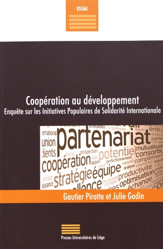Gautier Pirotte et Julie Godin - Coopération au développement - Enquête sur les Initiatives Populaires de Solidarité Internationale.