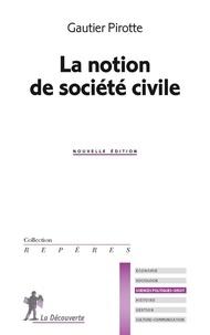 Gautier Pirotte - La notion de société civile.