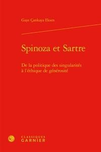 Deedr.fr Spinoza et Sartre - De la politique des singularités à l'éthique de générosité Image
