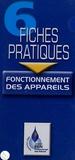 Gaz de France - 6 Fiches Pratiques Fonctionnement des appareils.