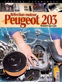 Gazoline - Réfection moteur Peugeot 203 - Restaurer pas à pas.