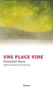 Une place vide - Geetanjali Shree pdf epub