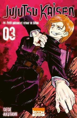Jujutsu Kaisen Tome 3 Retour de bâton