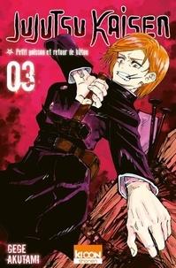 Gege Akutami - Jujutsu Kaisen Tome 3 : .