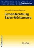 Gemeindeordnung Baden-Württtemberg.