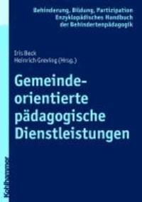 Gemeindeorientierte pädagogische Dienstleistungen.
