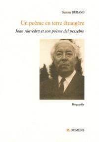 Gemma Durand - Un poème en terre étrangère - Joan Alavedra et son Poema del pessebre.