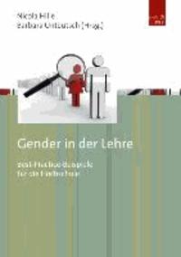 Gender in der Lehre - Best-Practice-Beispiele für die Hochschule.