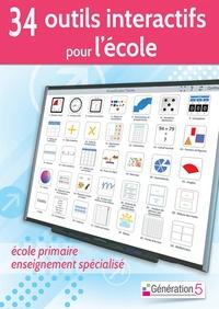 Christophe Gilger - 34 outils interactifs pour l'école. 1 Cédérom