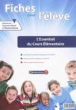 Génération 5 - Fiches pour l'élève : l'essentiel du cours élémentaire.