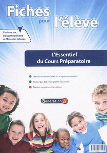 Génération 5 - Fiches pour l'élève : l'essentiel du cours préparatoire.