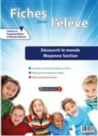 Fiches pour l'élève- Découvrir le monde Moyenne section -  Génération 5 | Showmesound.org