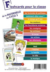 Génération 5 - Flashcards pour la classe ! - De la maternelle au cycle 3.