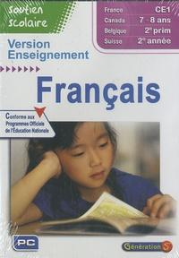 Génération 5 - Français CE1 version enseignement - CD-ROM.