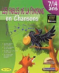 Anny Versini et Jean-Marc Versini - Les fables de La Fontaine en chansons. 1 Cédérom