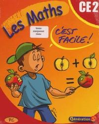 Les Maths cest facile! CE2. Version enseignement réseau, CD-ROM.pdf