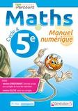 Génération 5 - Maths 5e Cycle 4 iParcours - Manuel numérique. 1 DVD